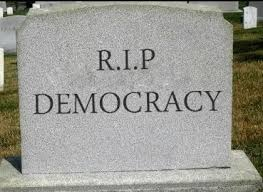 Image result for democracy dead